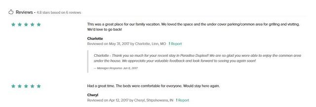 vacation rental software reviews